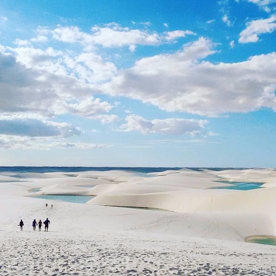 Sand Dune Lakes in Brazil