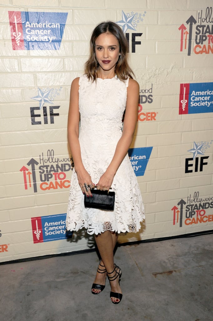 Jessica Alba at Stand Up to Cancer