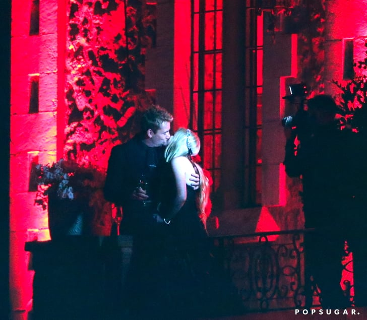 Avril Lavigne Wedding Gown: Avril Lavigne Wore A Black Wedding Dress To Marry Chad