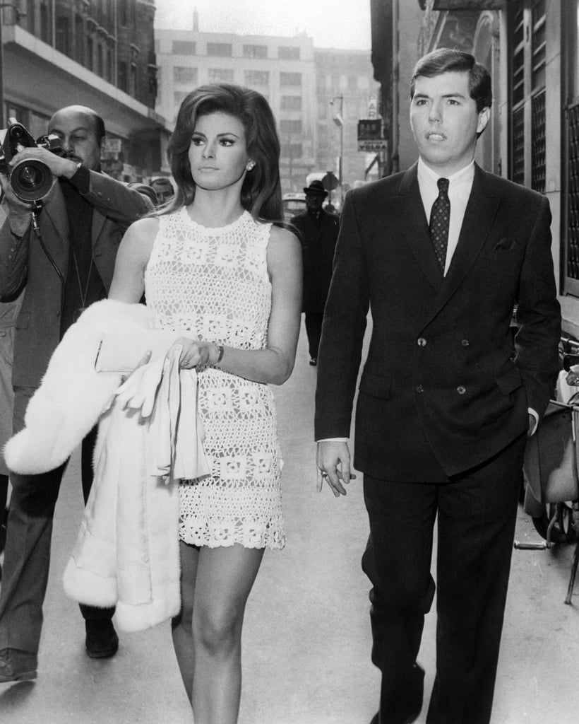 Raquel Welch and Patrick Curtis