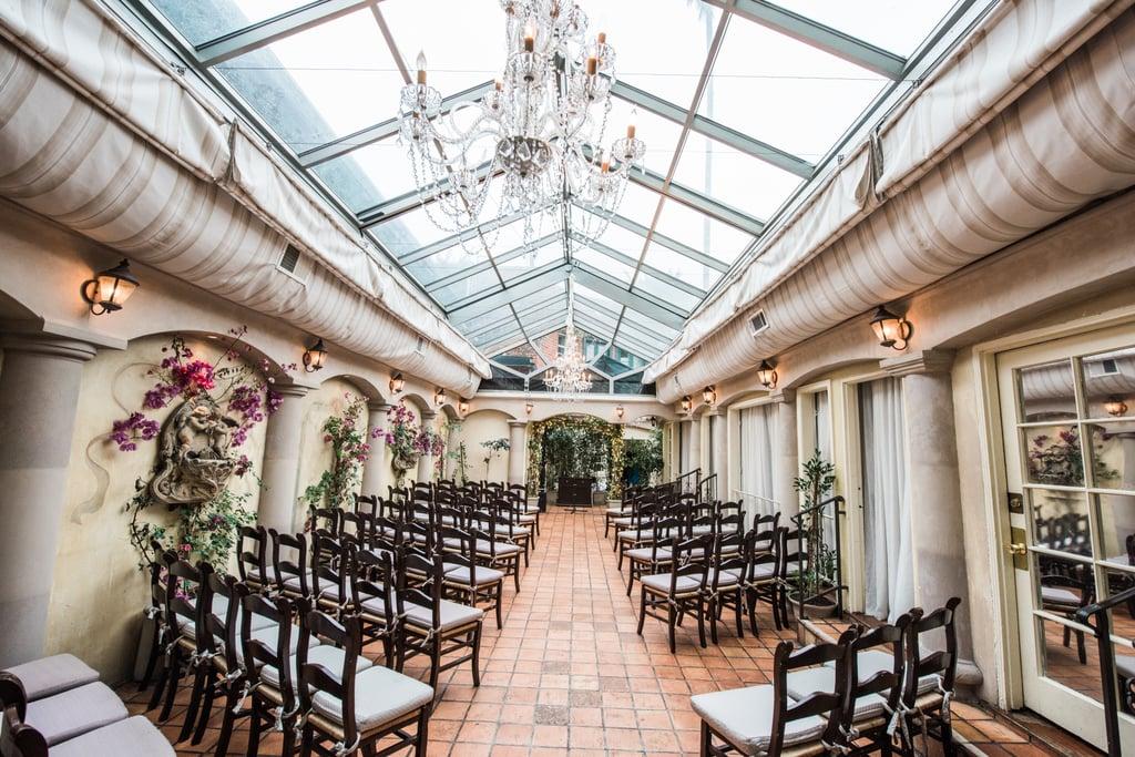 Restaurant Courtyard Wedding