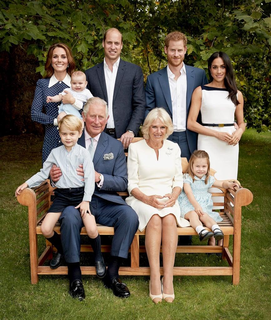 Kate Middleton's Dress in Royal Family Portrait 2018