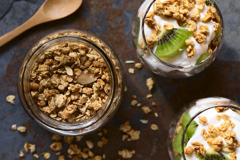 Yogurt, Peanut Butter, and Oats