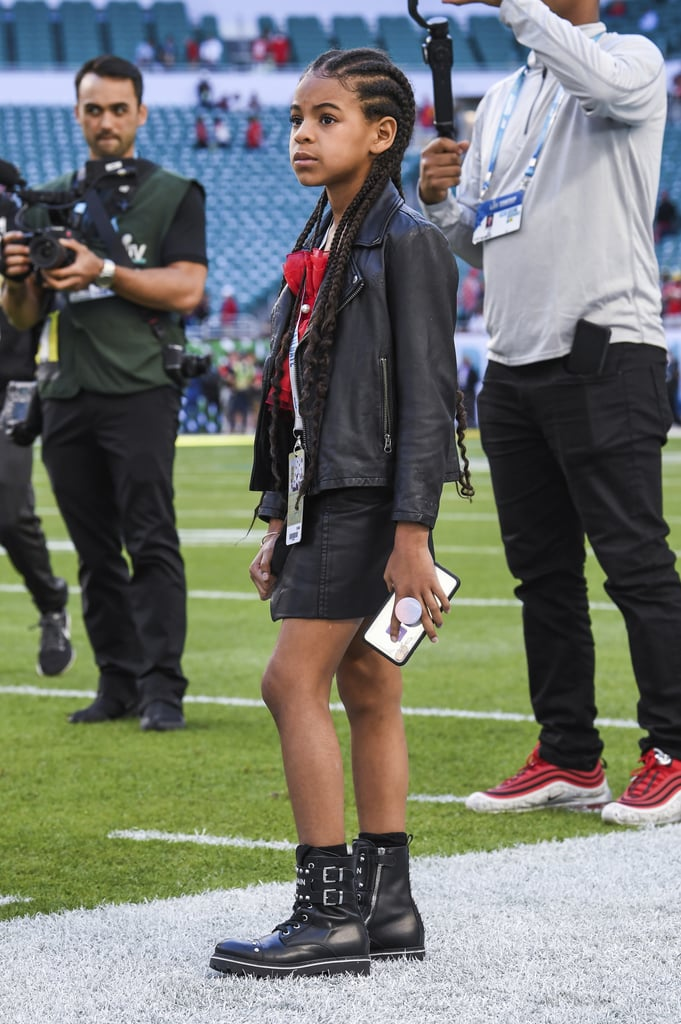 Blue Ivy's Outfit at Super Bowl 2020 With JAY-Z