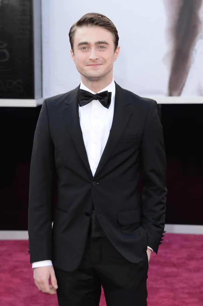 Daniel Radcliffe hit the Oscars red carpet.