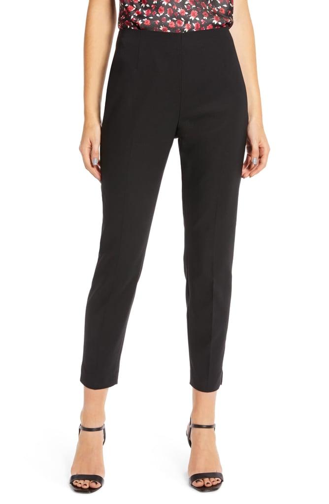 Something Navy Slim Crop Pants