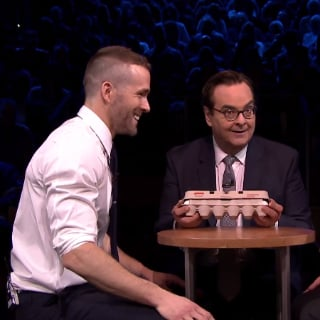 Ryan Reynolds Speaks About His Baby and Plays Egg Roulette
