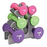 ToneFitness 20 lbs. Hourglass Dumbbell Set