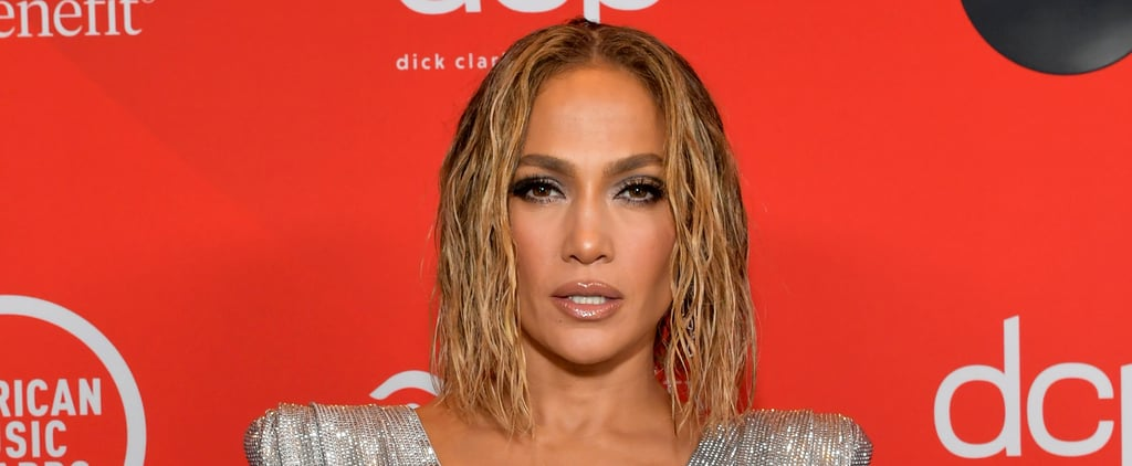 Jennifer Lopez's Floating Eyeliner and Blond Lob AMAs 2020
