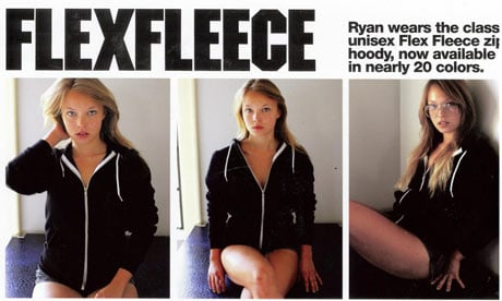 American Apparel Ad Banned for Sexual Implications