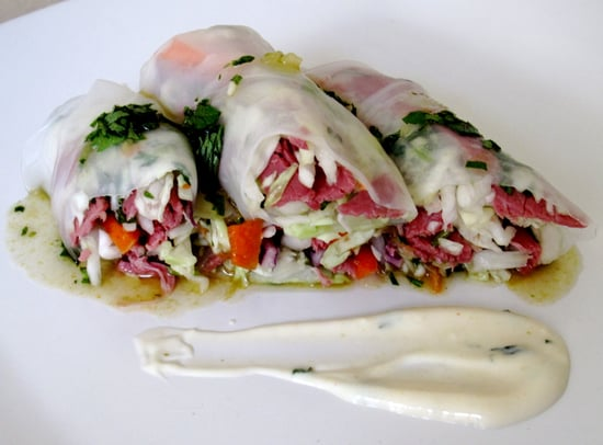 Fast & Easy Recipe For Roast Beef Summer Rolls