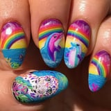 This Cute Lisa Frank Nail Art Would Go Perfectly With Your Favorite  90s Trapper Keeper