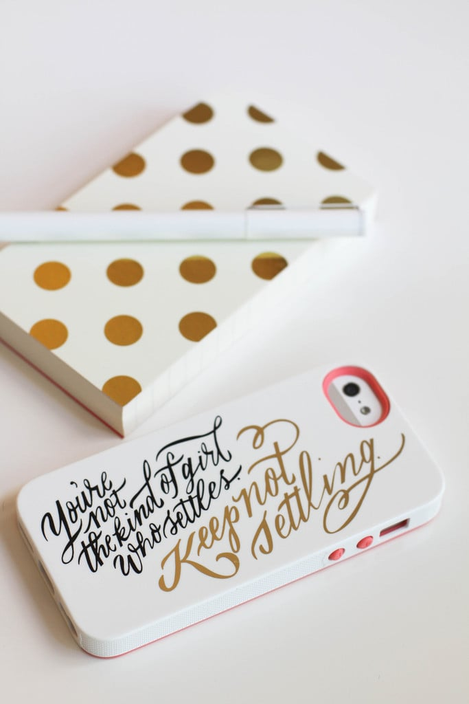 Keep Not Settling iPhone 5/5S Case
