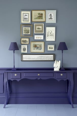 Love It or Hate It? Matching Desk and Wainscoting