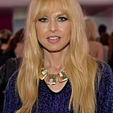 Motherhood looks good on Rachel Zoe, who stuck to her signature beauty look of boho texture in her hair and thick liner around her eyes.