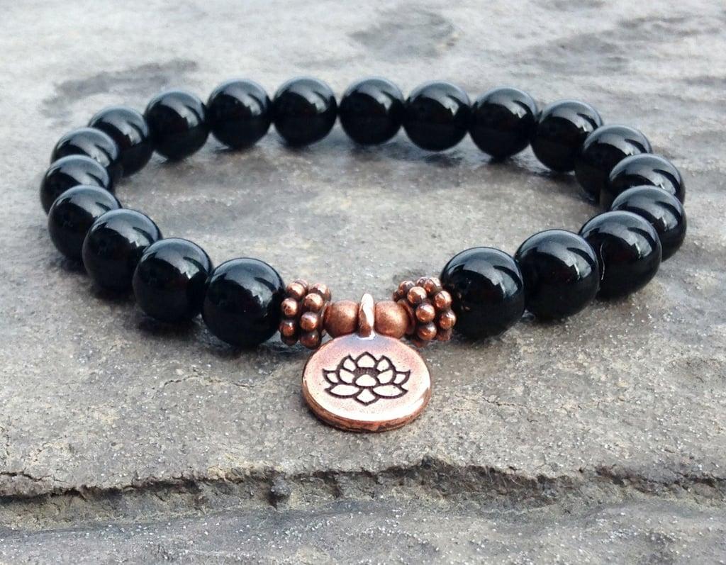 Black Tourmaline Anxiety Relief Bracelet