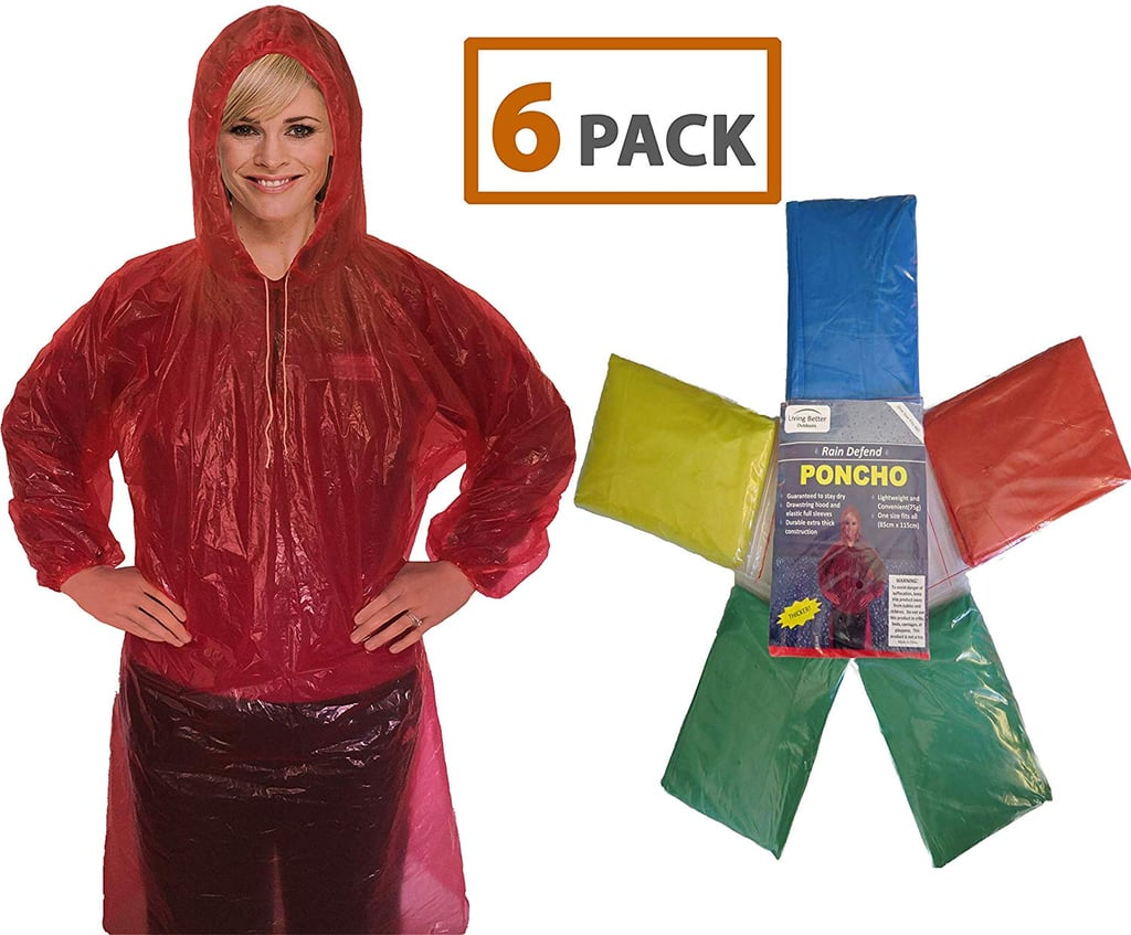 Colorful Ponchos