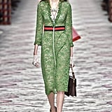 We First Saw This Lacy Green Dress on the Spring '16 Runway