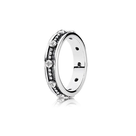 A Textured Silver Ring