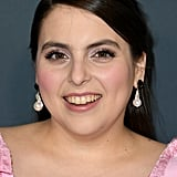 Beanie Feldstein's Red and Pink Critics' Choice Awards Dress