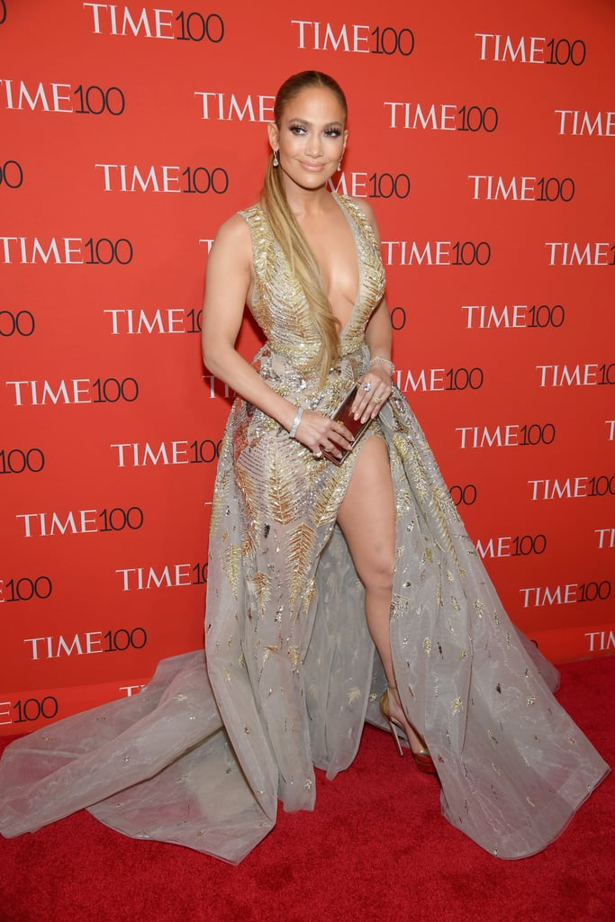 Image result for jennifer lopez gold dress