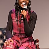When She Shared a Laugh With a Crowd at a Screening of the Movie Us