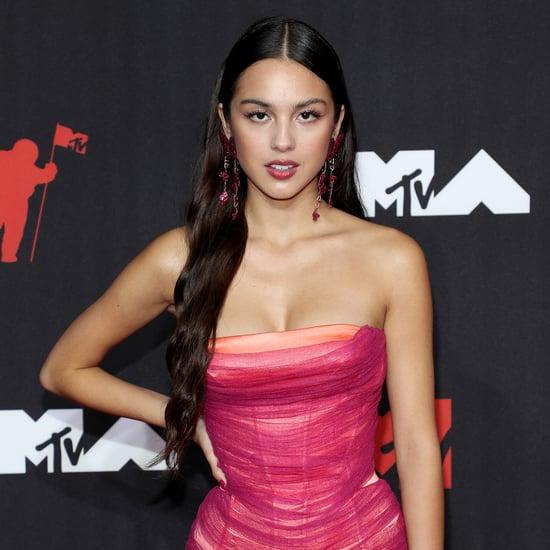 Olivia Rodrigo's Atelier Versace Dress at the MTV VMAs 2021