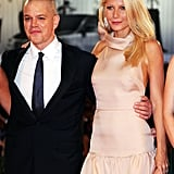 Gwyneth hit the red carpet with Matt Damon for the Venice Film Festival premiere of their film Contagion in September 2011.