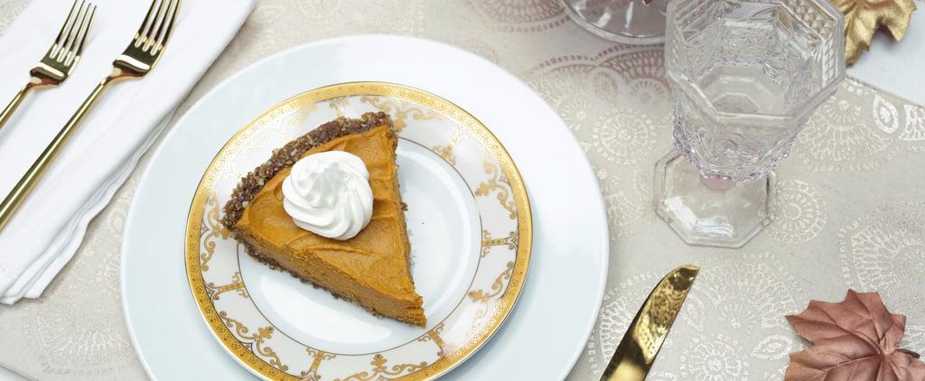 This No-Bake Vegan Pumpkin Pie Is Going to Win Thanksgiving
