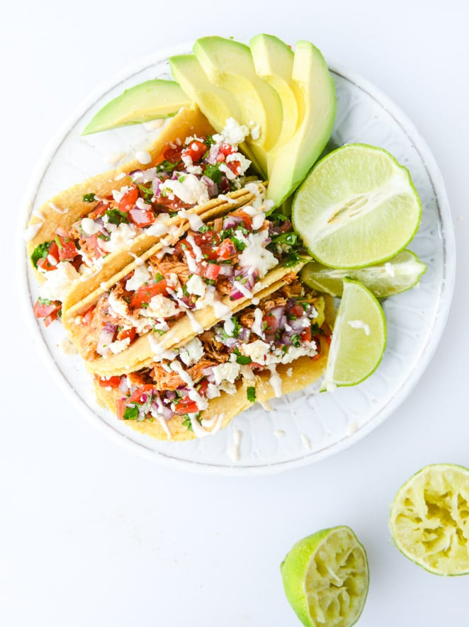 Easy Weeknight Chicken Tacos