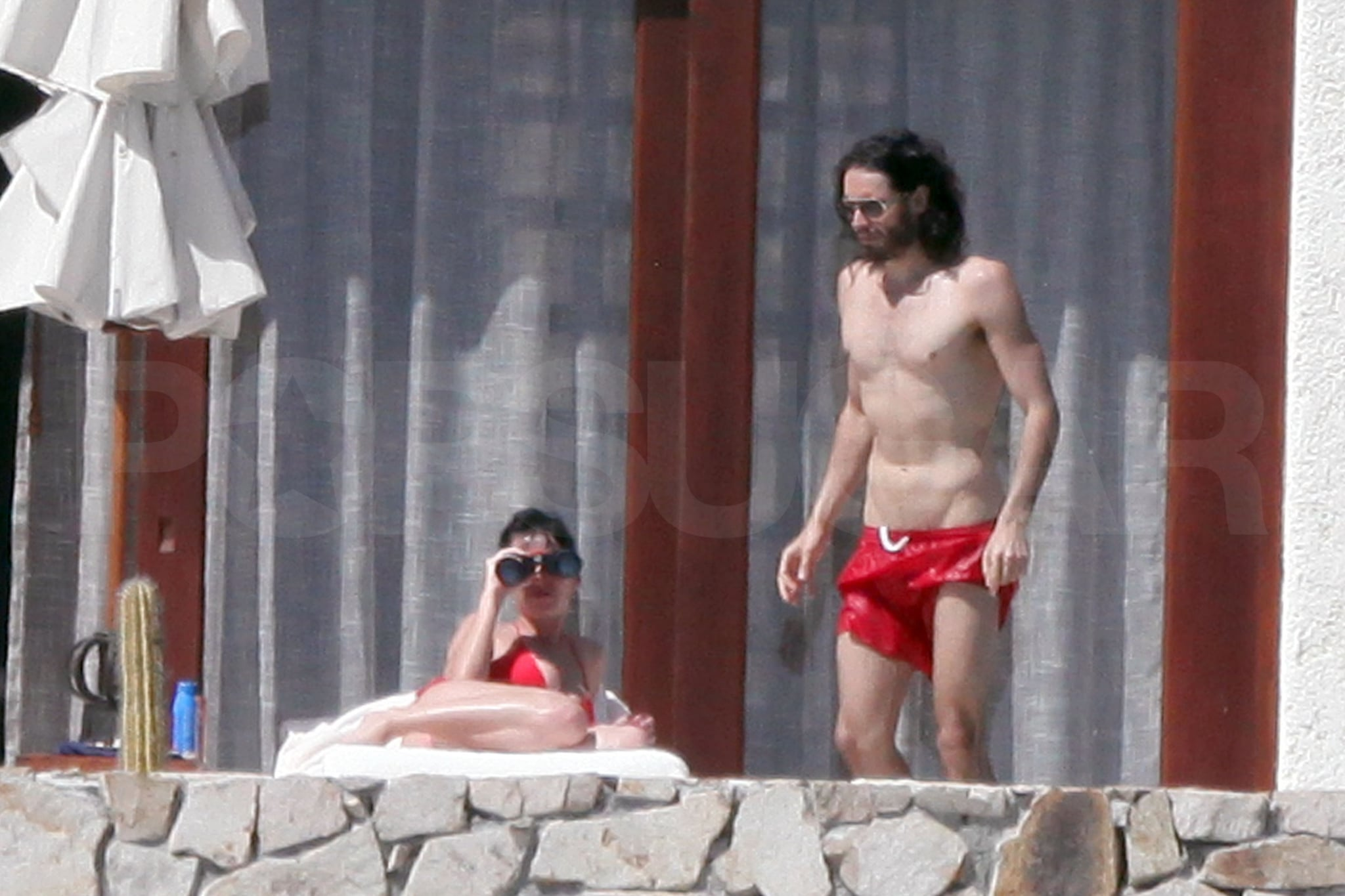 Photos of Katy Perry in a Bikini and Russell Brand ...