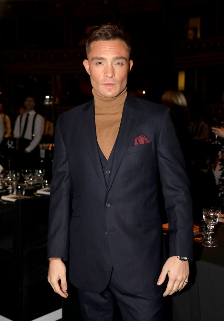Ed Westwick at the British Fashion Awards 2019 in London