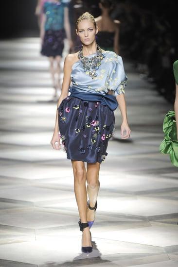 Paris Fashion Week: Lanvin Spring 2009