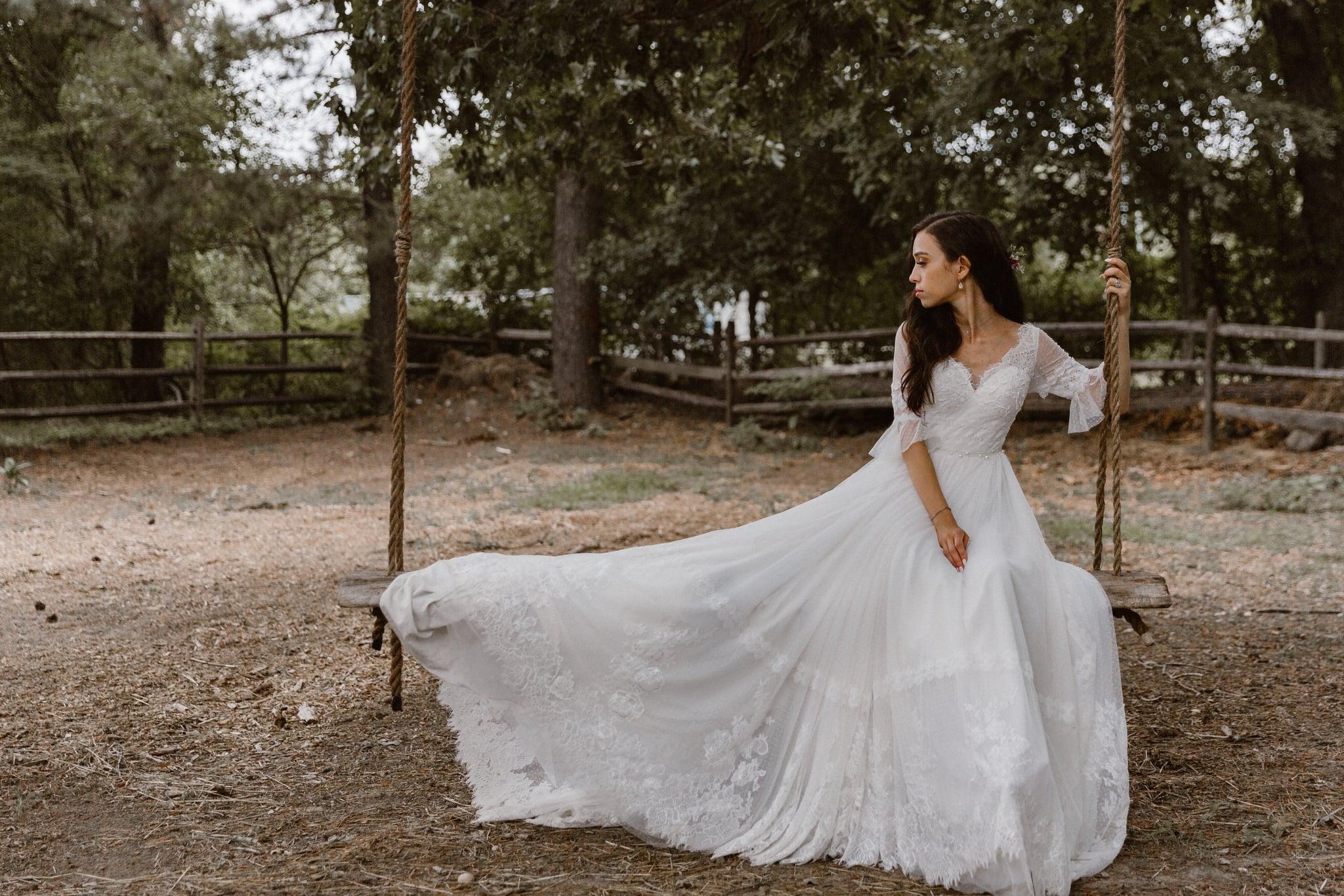 Brides Who Designed Their Own Wedding Dresses On Anomalie Popsugar Fashion