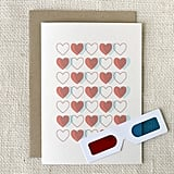 Make your love pop with the help of this 3D card.  3D Hearts $5