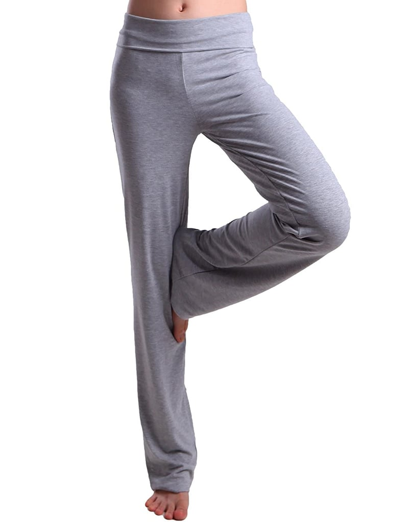 HDE Fold Over Yoga Pants