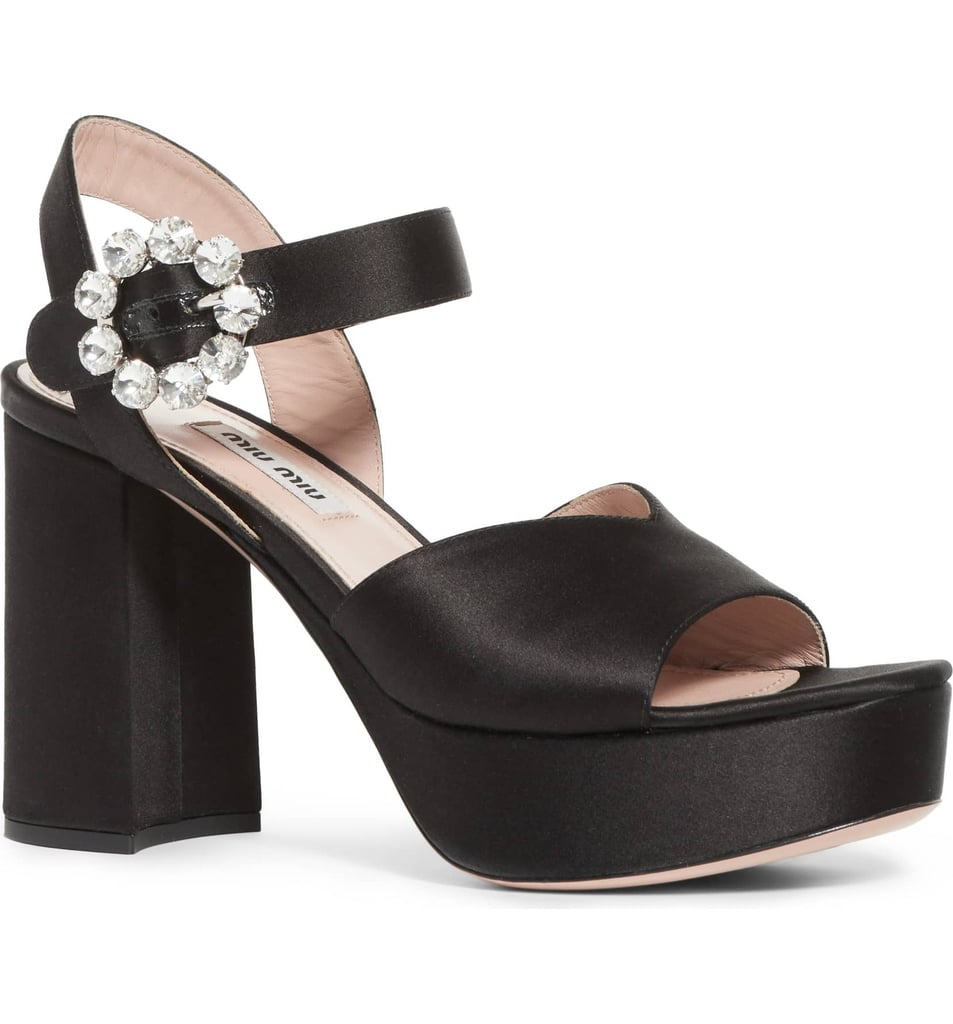 Our Pick: Miu Miu Jewel Platform Sandal