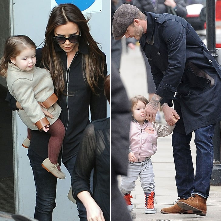 Harper Shows Her Walking Skills After a Busy Beckham Family Weekend