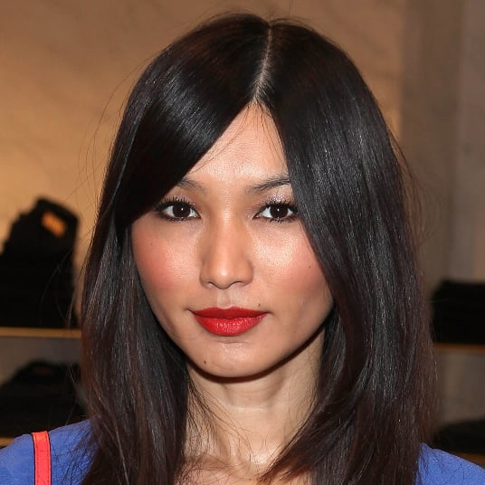 Gemma Chan Red Lipstick Beauty Get The Look
