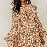 Factory Tie the End Floral Dress