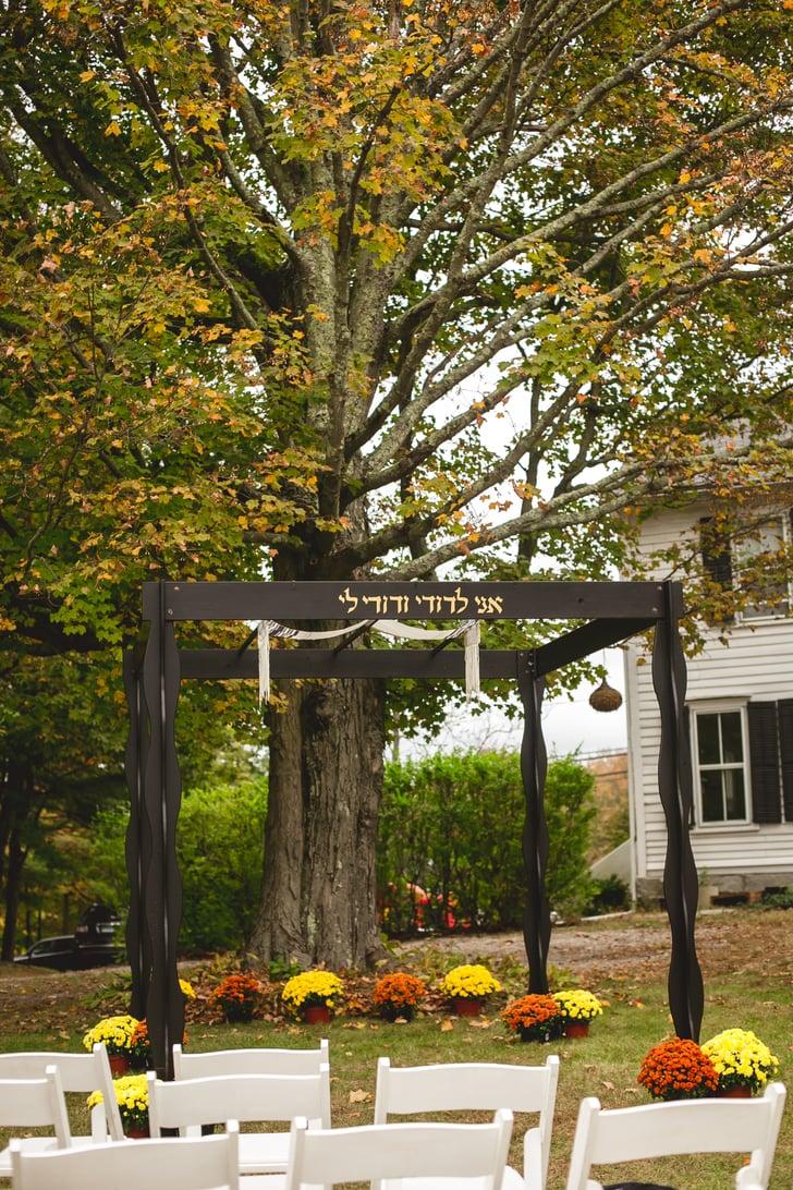 Halloween DIY Backyard Wedding Ideas   POPSUGAR Love & Sex ...