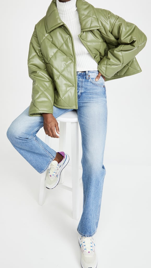 Sage Green — Stand Studio Jacinda Puffy Jacket