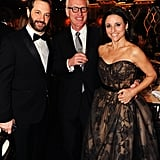 Judd Apatow, Brad Hall, and Julia Louis-Dreyfus