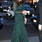 Kate in Temperley, March 2017