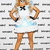 Paris Hilton as Alice in Wonderland