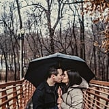 This Couple Totally Channeled The Notebook When It Poured During Their Engagement Shoot
