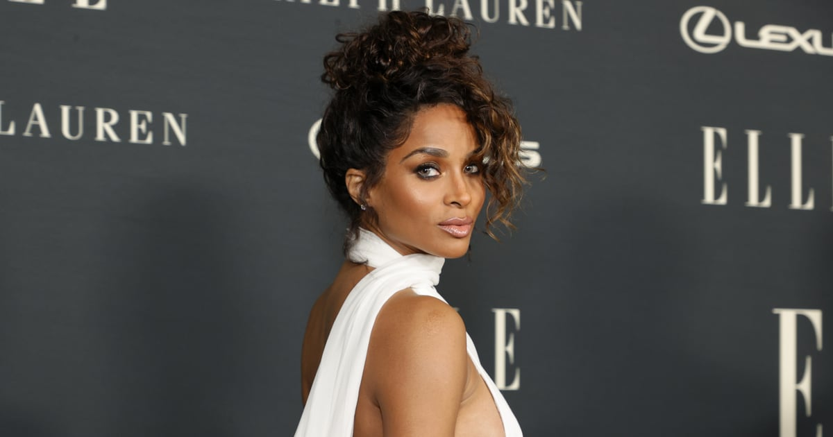 Ciara Could Easily Play One of the Muses From Hercules in This Sexy Slitted Gown.jpg