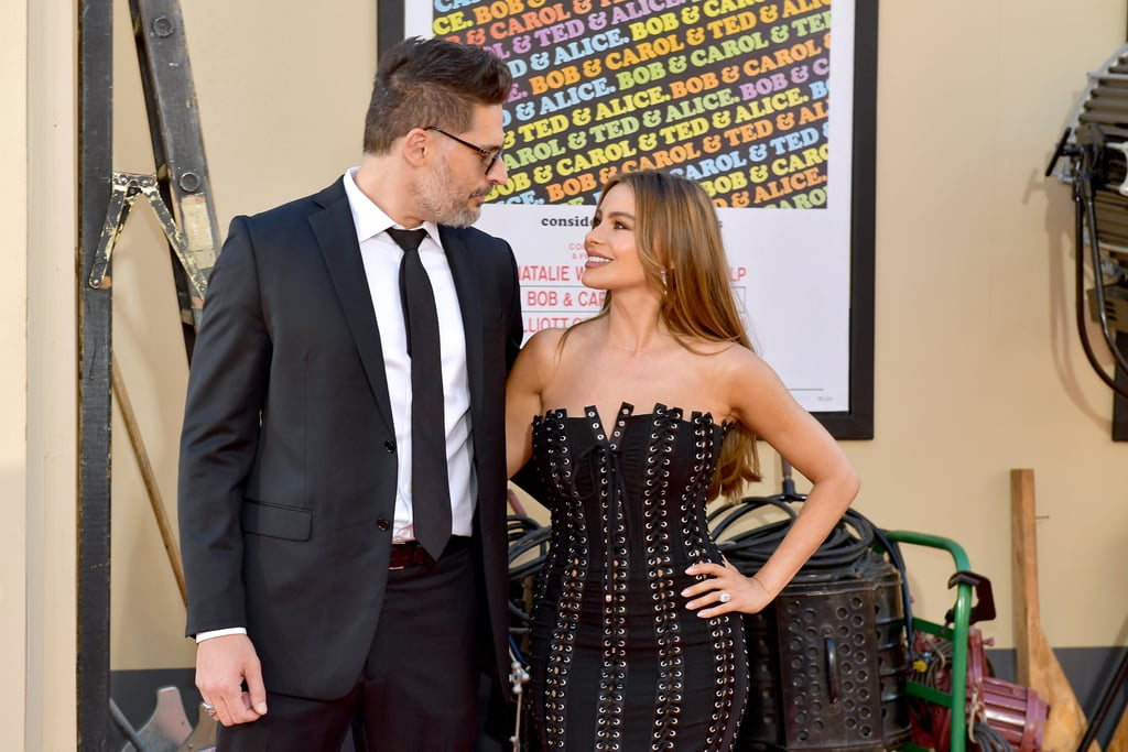 Joe Manganiello and Sofia Vergara at the Once Upon a Time in Hollywood LA premiere.