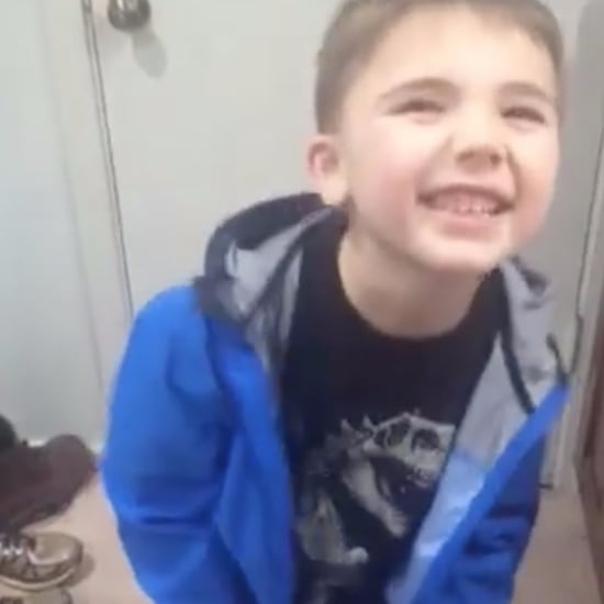 Boy With Autism Zips His Coat by Himself For the First Time