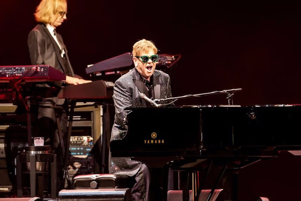 Watch Elton John's Emotional Tribute to Mother at Dubai Gig